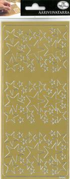 Ääriviivatarra tähdet - Tarrat ja tarrakirjat - 143431 - 1