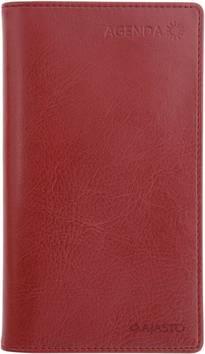 Agenda, viininpunainen - Ajasto kalenterit - 152591 - 1