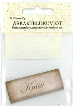 Askartelukuvio kutsu nostalgia - Askartelutarvikkeet - 136061 - 1