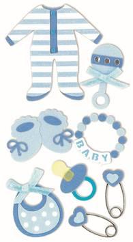 Baby boy 1 -tarra-arkki - Askartelutarvikkeet - 137291 - 1