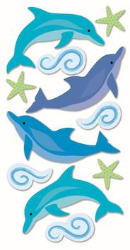 Dolphins-tarra-arkki - Askartelutarvikkeet - 137271 - 1