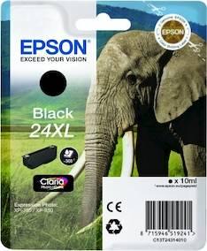 EPSON 24XL mustesuihku - Epson mustesuihkuväripatruunat - 141701 - 1