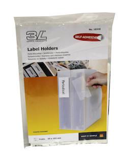 Etikettitasku 55x102mm 3L - Etiketit-, tulostuskortit ja tarrakalvot - 104601 - 1