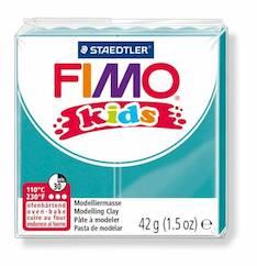 Fimo kids turkoosi - Askartelutarvikkeet - 141241 - 1