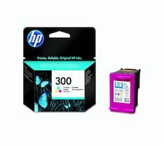 HP 300 CC643EE mustesuihku - HP mustesuihkuväripatruunat - 125891 - 1