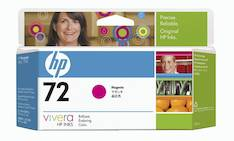 HP 72 C9372A mustesuihku - HP mustesuihkuväripatruunat - 122591 - 1