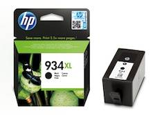 HP 934XL  mustesuihku - HP mustesuihkuväripatruunat - 143061 - 1