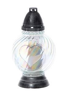 Hautalyhty sydän 48h POLAR - Kynttilät, lyhdyt ja tarvikkeet - 153361 - 1