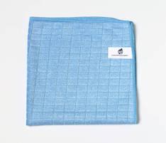 Heti mikrokuitupyyhe ruutu, sininen - Siivous- ja puhdistusvälineet - 139691 - 1