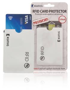 König RFID korttisuojus - Puhelintarvikkeet - 149301 - 1