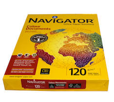 Kopiopaperi NAVIGATOR A4/120g - Kopiopaperit - 127581 - 1