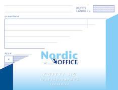 Kuittilomake NORDIC A6 100sivua - Lomakkeet - 102211 - 1