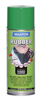 Kumimaalispray rubbercomp 400ml - Maalaustarvikkeet - 142961 - 1