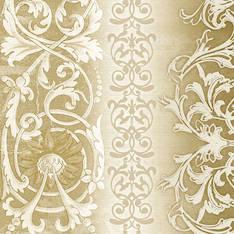 Lautasliina 33x33cm sophia gold fsc mix - Servietit ja lautasliinat - 143771 - 1