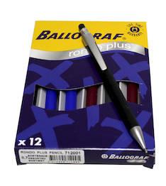 Lyijytäytekynä 0,7mm BALLOGRAF RondoPlus - Lyijytäytekynät - 111331 - 1