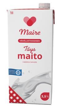 Maito täysmaito 1L MAIRE UHT - Maidot ja kermat - 134251 - 1
