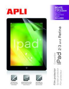 Näytönsuojakalvo iPad2/iPad3 APLI - Häikäisy - ja tietoturvasuojat - 131871 - 1