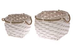 Pajukori Rope 30x30x23cm - Säilytyslaatikot ja -korit  - 146261 - 1