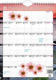 Pieni seinämemo - Ajasto kalenterit - 152651 - 1