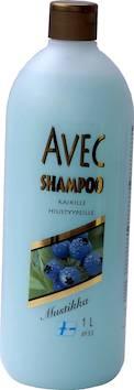 Shampoo avec mustikka 1l - Kosmetiikka ja pesuaineet - 136471 - 1