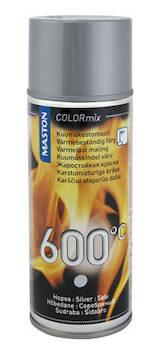 Spraymaali kuumakesto 600c400ml - Maalaustarvikkeet - 136311 - 1