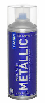 Spraymaali metallic 400ml - Maalaustarvikkeet - 136301 - 1
