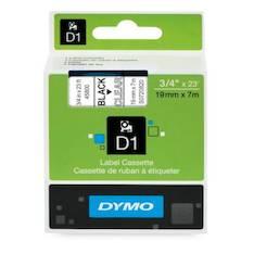 Tarranauha DYMO 19mmx7m 45800 - Tarra- ja kohokirjoitinteipit Dymo - 104071 - 1