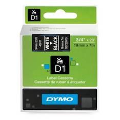 Tarranauha DYMO 19mmx7m 45811 - Tarra- ja kohokirjoitinteipit Dymo - 104081 - 1