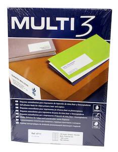 Tulostustarra 105x48 MULTI3 12-jak - Tulostus- ja kopiotarrat - 128251 - 1