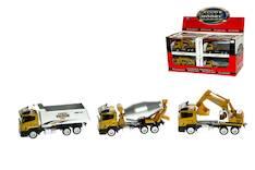 Työmaa-ajoneuvo 24cm lajitelma - Lelut - 144481 - 1