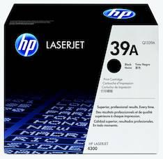Värikasetti HP 39A Q1339A laser - HP laservärikasetit ja rummut - 112461 - 1