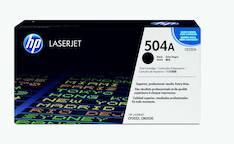 Värikasetti HP 504A CE250A laser - HP laservärikasetit ja rummut - 121331 - 1