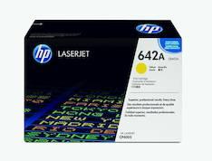Värikasetti HP 642A CB402A laser - HP laservärikasetit ja rummut - 117771 - 1