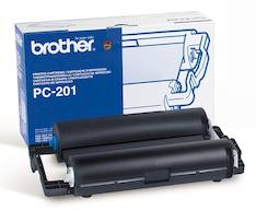 Värinauhakasetti BROTHER PC-201 - Brother fax värirullat - 109441 - 1