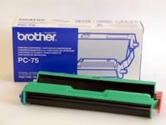 Värinauhakasetti BROTHER PC-75 - Brother fax värirullat - 115181 - 1