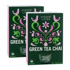 Tee Higher Living Vihreä Tee Chai - Kahvit,teet ja kaakaot - 153681 - 1