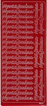 Ääriviivatarra Hyvää Joulua - Tarrat ja tarrakirjat - 153501 - 1