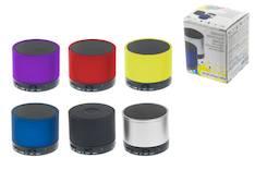 Minikaiutin pyöreä bluetooth - Muut it- ja ergonomiatarvikkeet - 147092 - 1