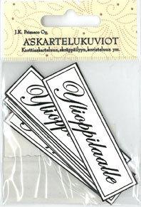 Askartelukuvio Ylioppilaalle 6kpl/pkt - Tarrat ja tarrakirjat - 150742 - 1