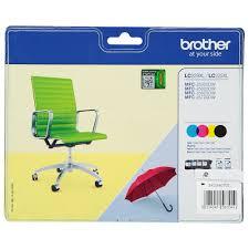 BROTHER LC229XL mustesuihku 4 väriä - Brother mustesuihkuväripatruunat - 134012 - 2
