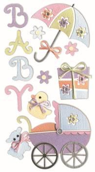 Baby accessories -tarra-arkki - Askartelutarvikkeet - 137292 - 1