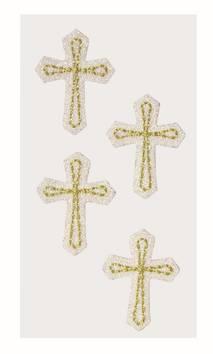 Cross tekstiili tarra-arkki - Askartelutarvikkeet - 137262 - 1