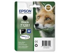 EPSON T1281 mustesuihku - Epson mustesuihkuväripatruunat - 126722 - 1