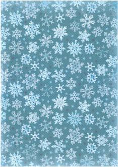 Glitterpaperi lumihiutale a4/5 - Askartelutarvikkeet - 143392 - 1
