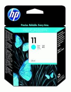 HP 11 C4836A mustesuihku - HP mustesuihkuväripatruunat - 100702 - 1