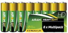 Paristo Airam  HD PLUS R6 AA 1,5V - Paristot - 139482 - 1