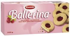 Keksi BALLERINA 380g täytekeksi - Keksit ja korput - 119102 - 1