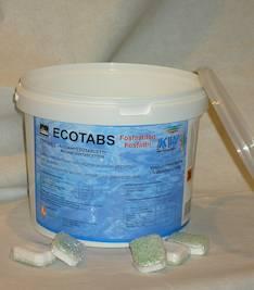 Konetiskitabletit KW Ecotabs - Pesu- ja puhdistusaineet - 131102 - 1