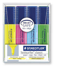 Korostuskynäsarja STAEDTLER TextSurfer - Korostuskynät - 108892 - 1