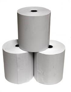 Lämpöpaperirulla 80x75x12mm (75m) - Lämpöpaperirullat - 102372 - 1